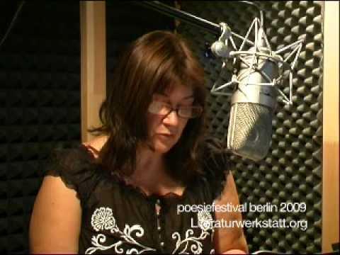 Claudia Keelan @poesiefestival berlin 2009, recordings for lyrikline.org