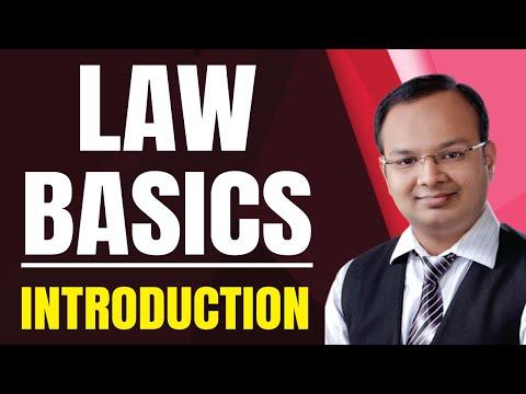 #1 | Law basics | CA | CS | CMA | LLB | Bcom | BBA | Mcom |