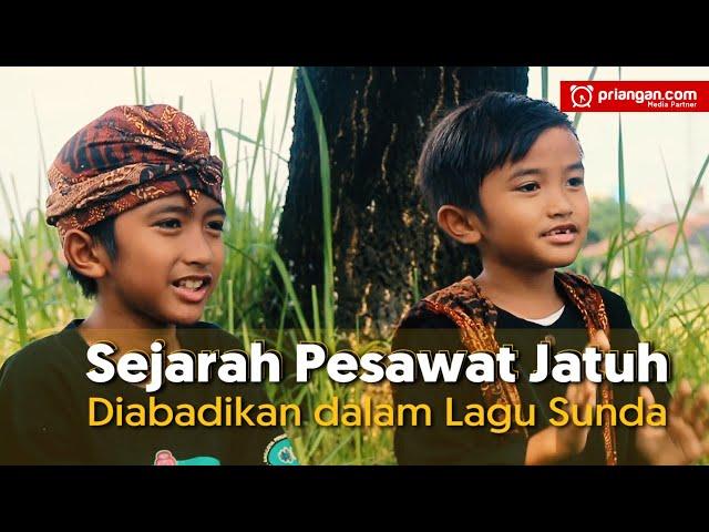 Sejarah Pesawat Jatuh Diabadikan dalam Lagu Sunda