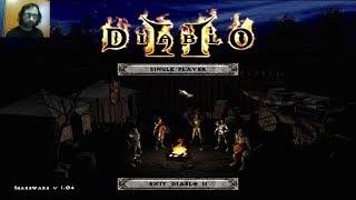 Estuve en una cueva matando zombies | Diablo II demo
