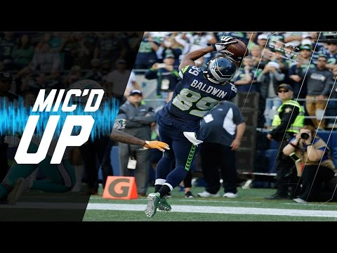 Doug Baldwin Mic'd Up vs Dolphins (2016) | Sound Fx | NFL