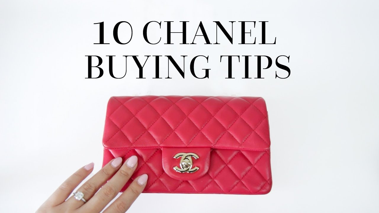 47e832a66448 10 THINGS YOU NEED TO KNOW BEFORE BUYING A CHANEL BAG - YouTube