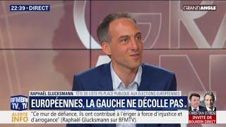 """Raphaël Glucksmann: """"Les Français veulent d'autres figures et manières d'approcher la politique"""""""
