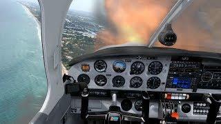 Engine Failure Torture Test - Emergency training with realistic flight simulator visuals