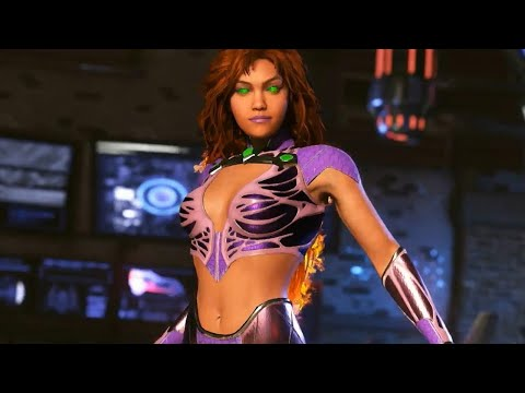 Injustice 2: 15 Minutes of Starfire Gameplay