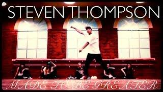 "Steven Thompson - ""Made To Be Greater"" @JustinBieber @JonMChu #BelieveTourAuditions"
