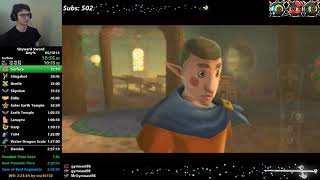 Skyward Sword Any% Speedrun in 2:25:15