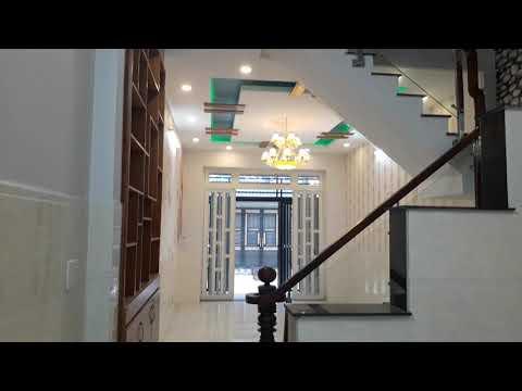 Bán nhà Bình Tân, 4 x 14m, 1 trệt,2 lầu đúc, hẽm cụt rộng 4m