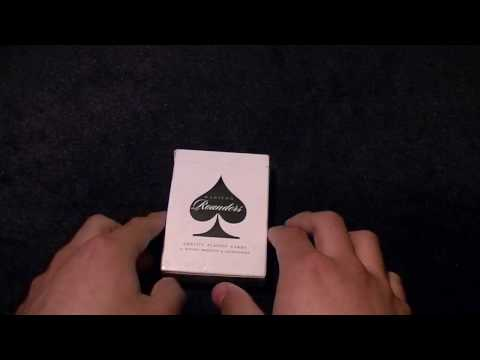 Ellusionist Daniel Madison Black Rounders Deck Review