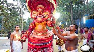 Rare INDIAN RITUAL in Kerala - THEYYAM | Kannur, India