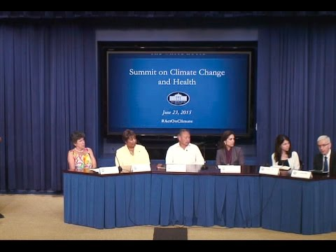 White House Public Health and Climate Change Summit