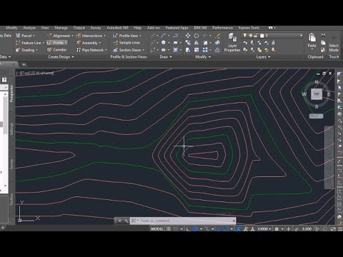 autocad-civil-3d-import-points-and-create-contours-/-surface