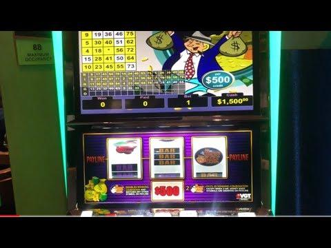 ***VGT $500 & $100 MR. MONEYBAGS !!!JACKPOT KING FEAT. RODEY