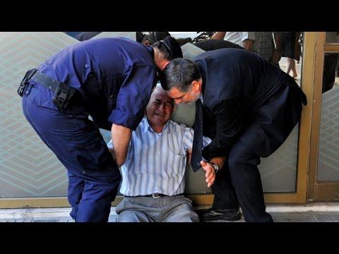 Greek Citizens Left Penniless by Economic Crisis