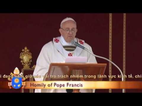 Bài giảng của Đức Thánh Cha Phanxico