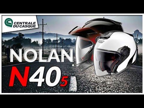 Casque jet et transformable Nolan N40.5 & N40.5 GT - Centrale-du-casque.com