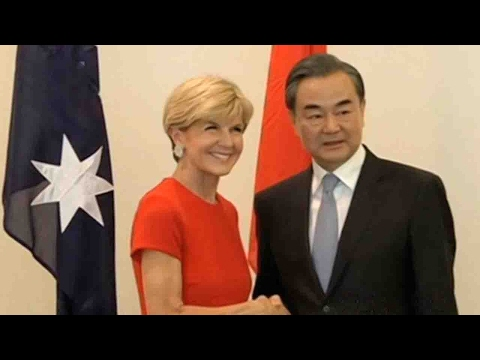Australian and Chinese FMs pledge economic, trade cooperation
