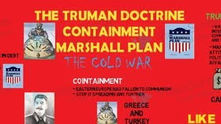 The Truman Doctrine, Containment & Marshall Plan- THE COLD WAR