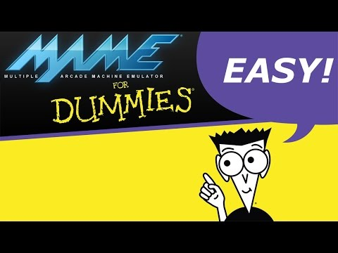 MAME Guide: For Dummies - with links to ROMs, BIOS, CHDs. (HLSL, Snaps, & Bezels Included!)