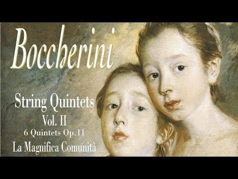 Boccherini: String quintets, Vol. II