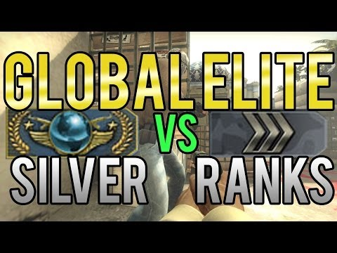 CS:GO - Global Elite vs Silver Ranks