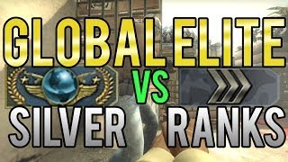 CS:GO - Global Elite vs Silver Ranks thumbnail