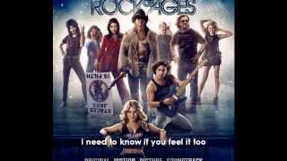 Rock Of Ages   Waiting For A Girl Like You With Lyrics