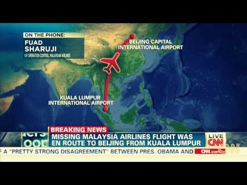 CNN VIDEO: At least 239 people feared dead as Malaysian airlines plane vanishes off Vietnam