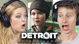 People Make Impossible Decisions In Detroit Become Human | Part 2