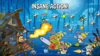 Swamp Attack Android Gameplay