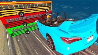 Beamng drive - High Speed Random Car Jumps #27