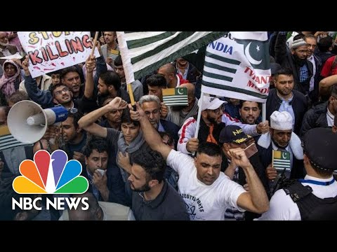 Thousands Protest Over Kashmir On Streets Of London | NBC News