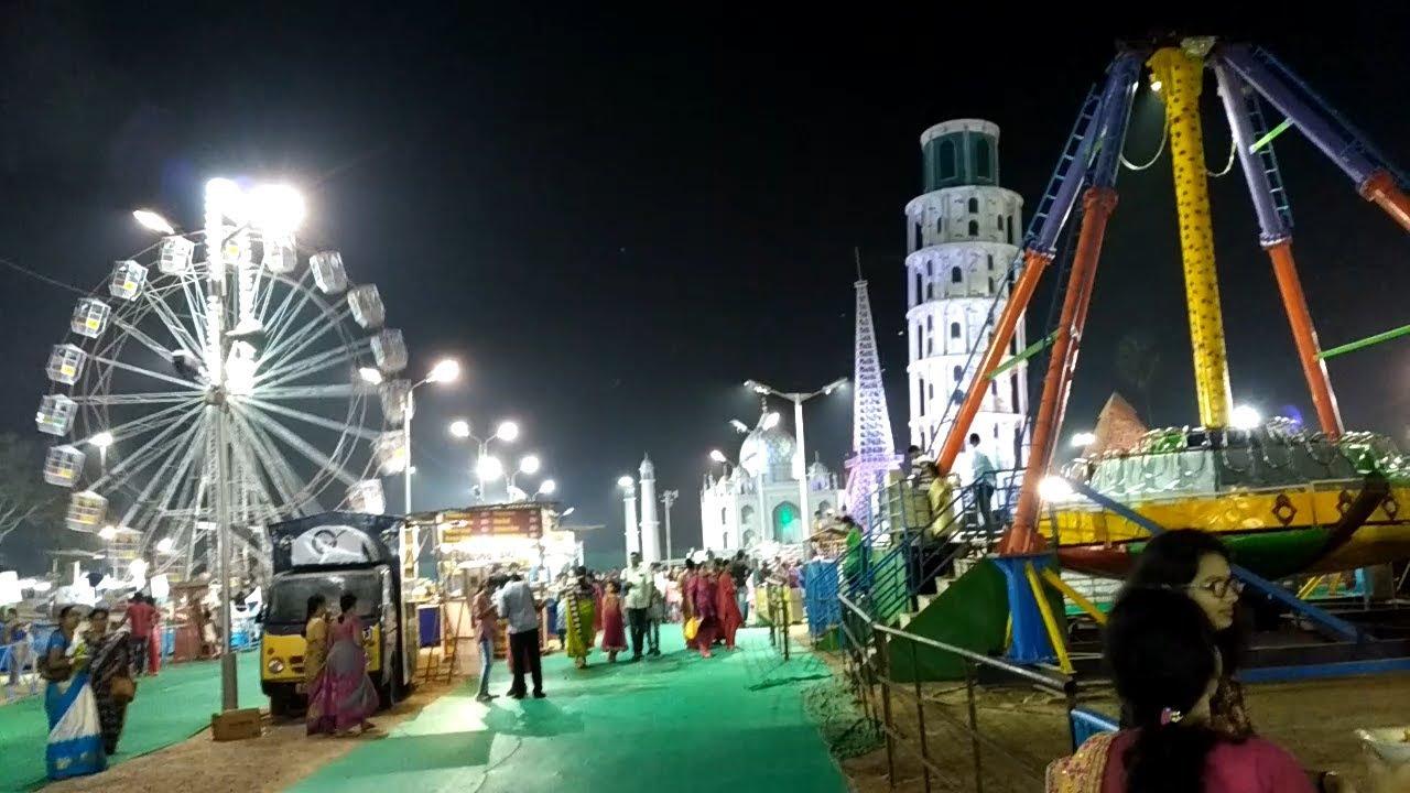7 Wonders Exhibition Punnami Ghat Bhavani Ghat Vijayawada
