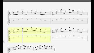 Bliss by Muse - GUITAR TAB - Ending - last part