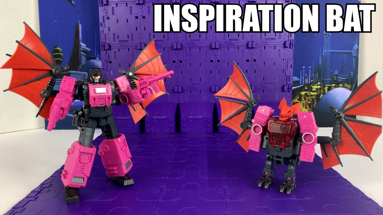 Vecma Mech Fans Toys Inspiration Bat (Legends Plus Mindwipe) Unboxing and Review By Enewtabie
