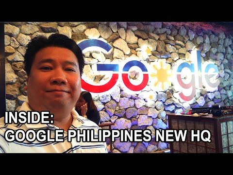 INSIDE GOOGLE PHILIPPINES NEW OFFICE
