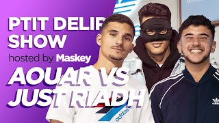 AOUAR vs JUST RIADH / MASKEY - Ptit Delire Show