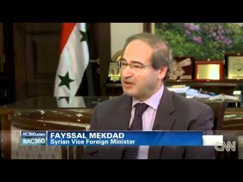 Syria Nazi Dictatorship Lies exposed by CNN - AC360.flv