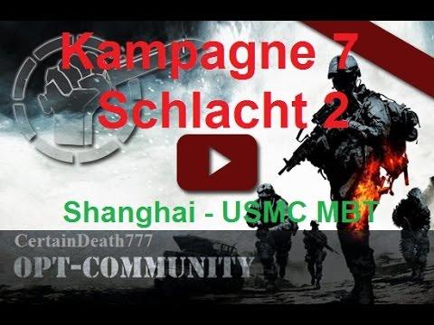 OPT 7. Kampagne 3. Schlacht Shanghai 1 USMC MBT