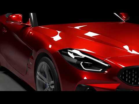 3D BMW Z4 M40i 2018 2019 2020