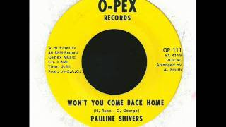 pauline shivers - won