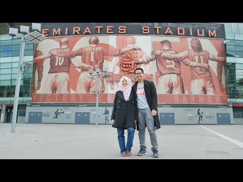 Main ke Emirates Stadium Arsenal FC & Naik Cable Car London - TRAVEL VLOG #6