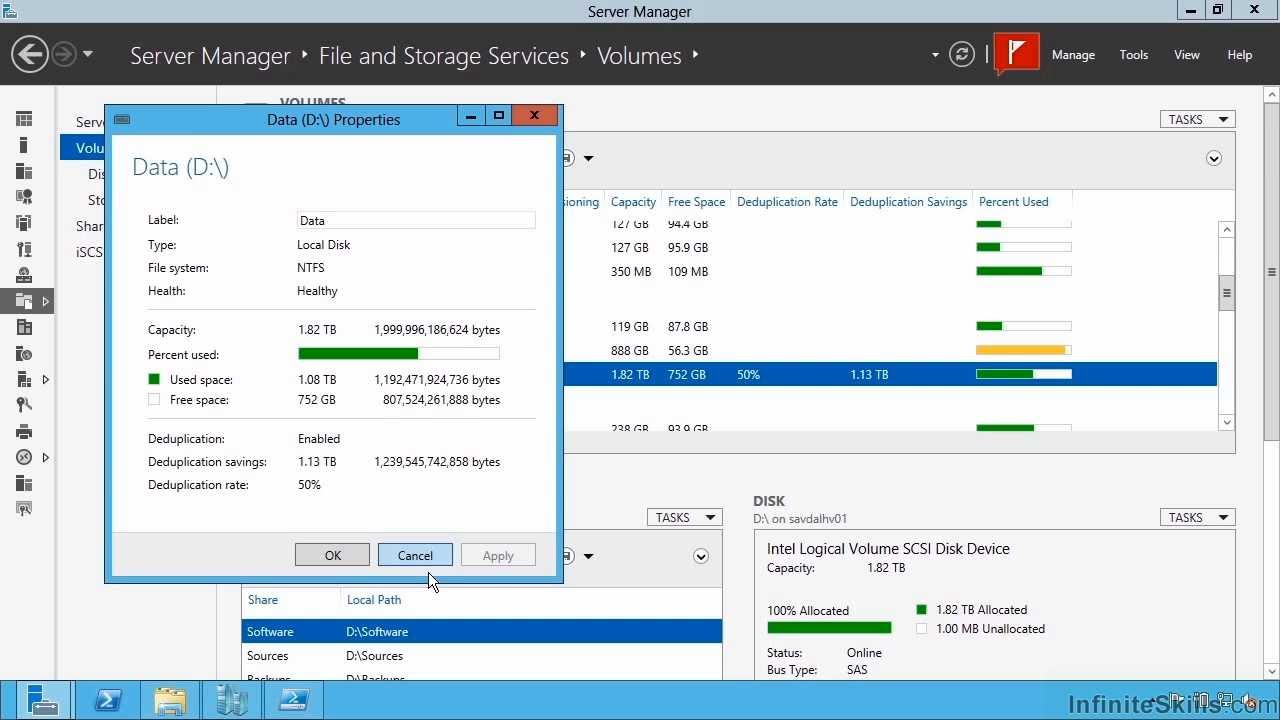 Microsoft Server 70 412 Tutorial Types Of File Services Available