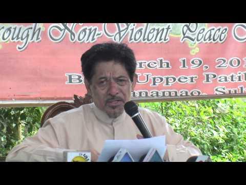 Zambo Times: Nur Misuari Press Conference in Zamboanga City