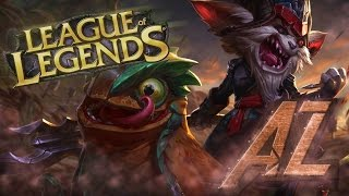 A-Z League of Legends: Kled - Nadrrrabiamy