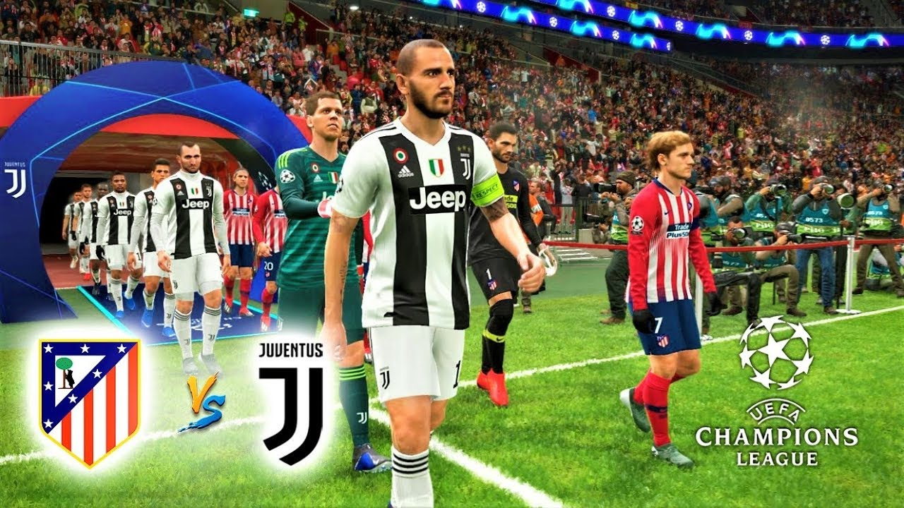 Image result for Juventus vs Atletico Madrid UEFA Champions League 2019 Live