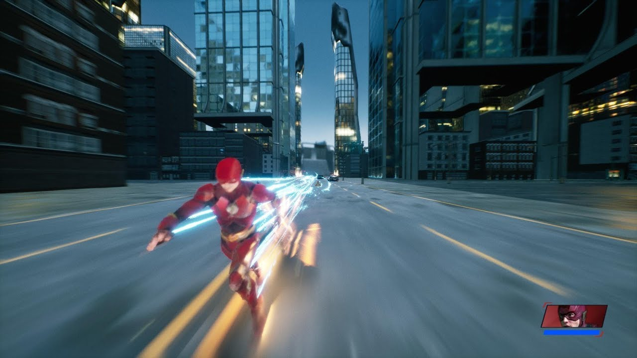 The Fastest Man Alive – A Flash Fan Game