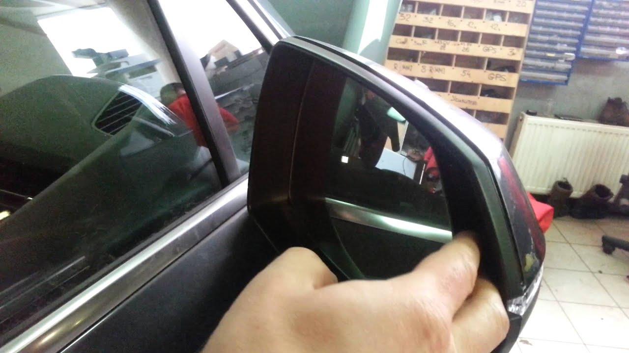 #023 снятие зеркального элемента Audi Q7