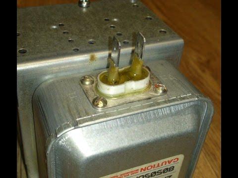 Ремонт микроволновки магнетрон