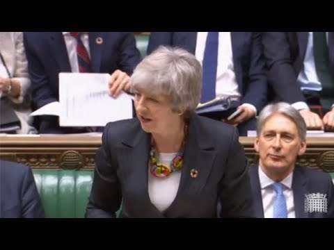 LIVE – Prime Minister Theresa May makes a statement to MPs about Brexit negotiations